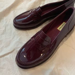 Hunter Women's Original Gloss Penny Loafers